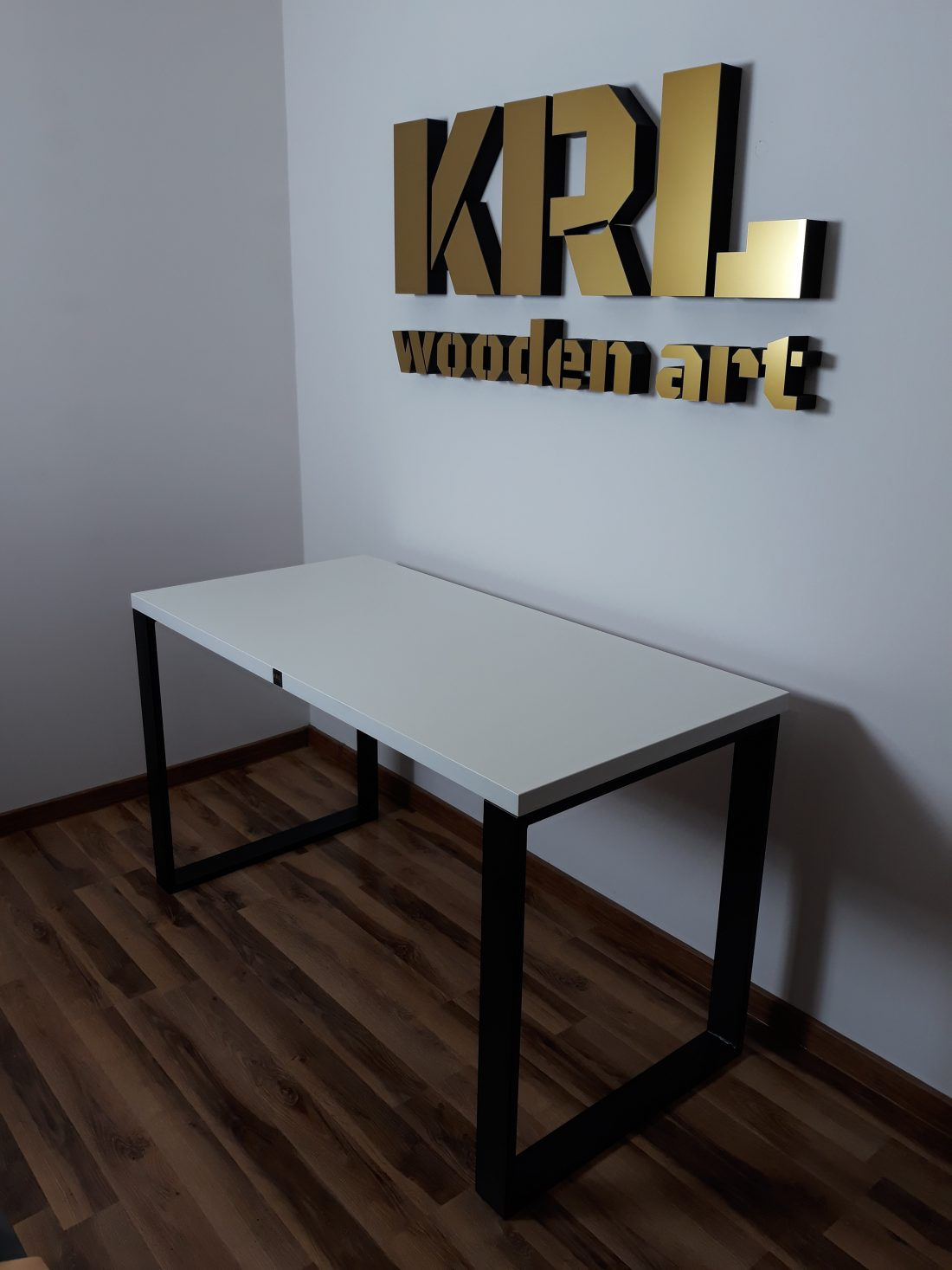 biurko modern edition białe krl
