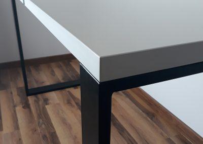 nowoczesne biurko loft
