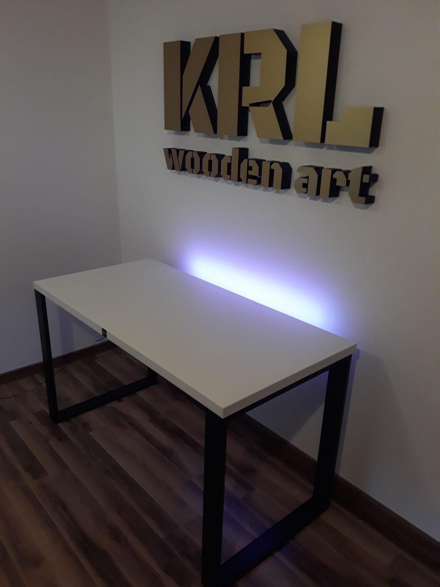 biurko firmy krl w stylu loft