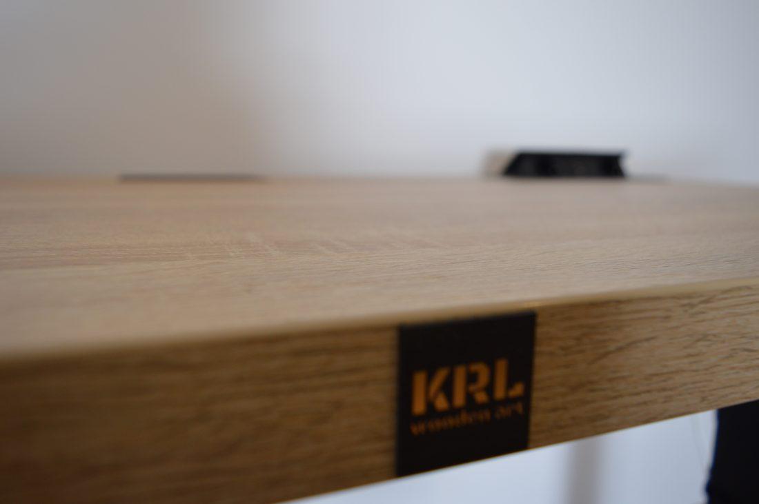 blat biurka 36mm krl wooden art