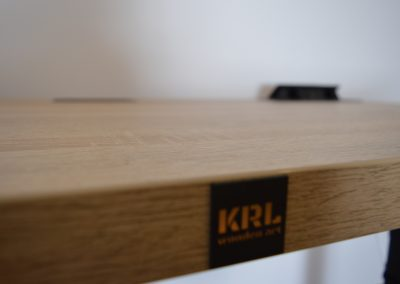 krl wooden art blat biurka