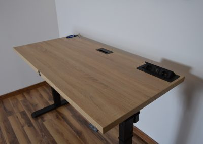 biurko dąb sonoma krl wooden art