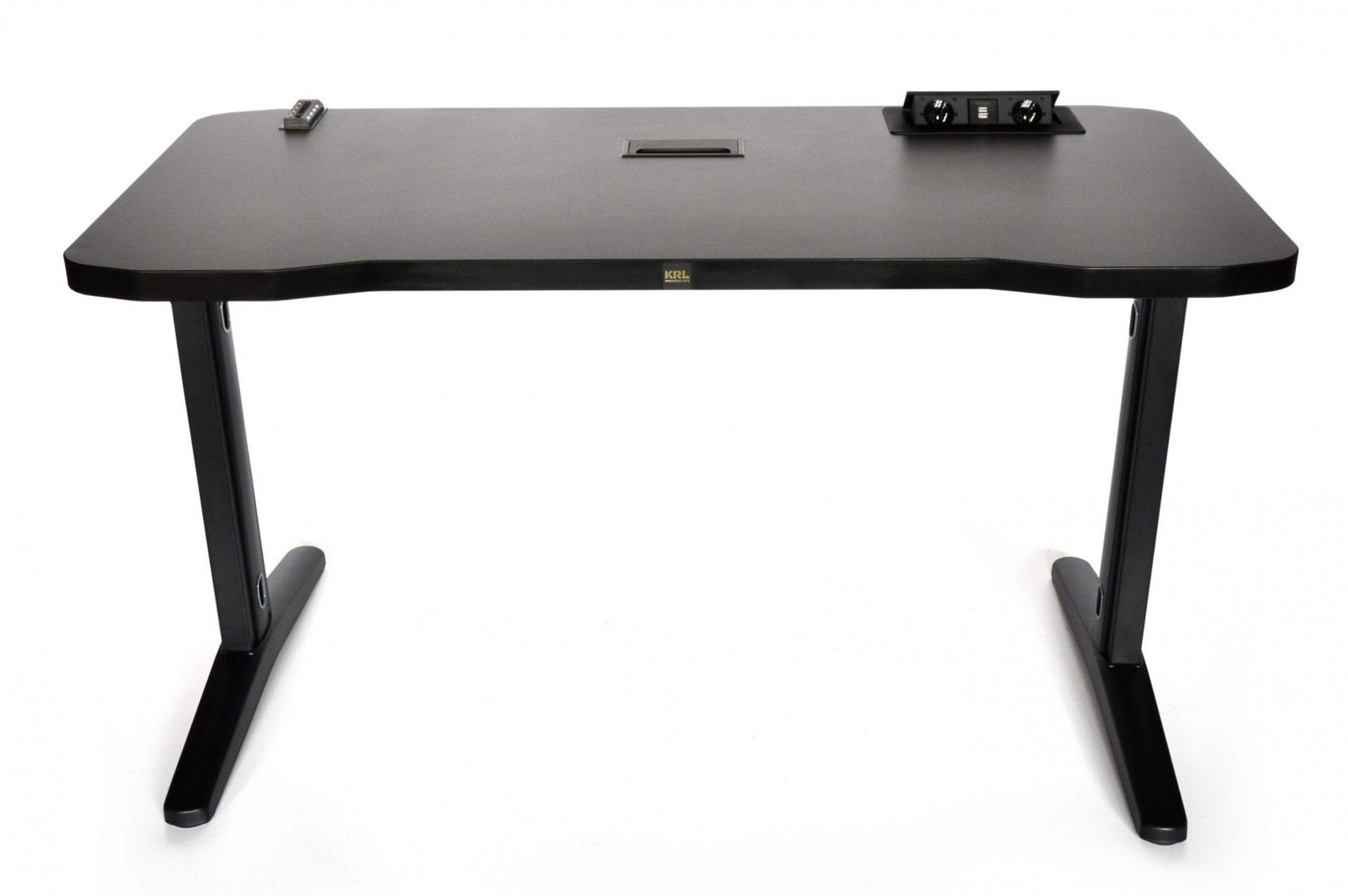 biurko krl z gniazdem i ładowarką
