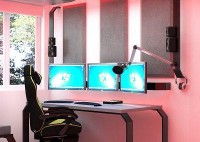 pokój gamingowy gaming room krl