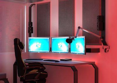gaming room pokój gamingowy krl
