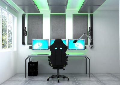 gaming room studio youtubera