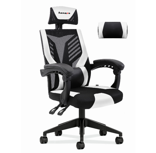 Fotel Gamingowy HUZARO COMBAT 4 0 WHITE