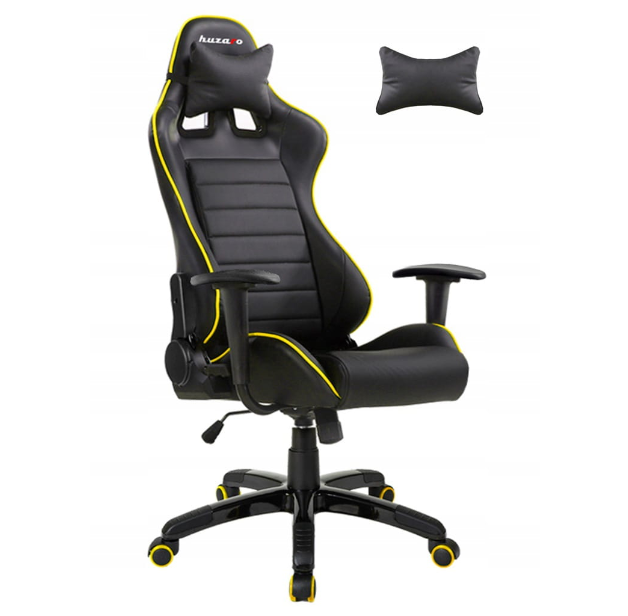 Fotel Gamingowy gracza HUZARO FORCE 6 0 YELLOW