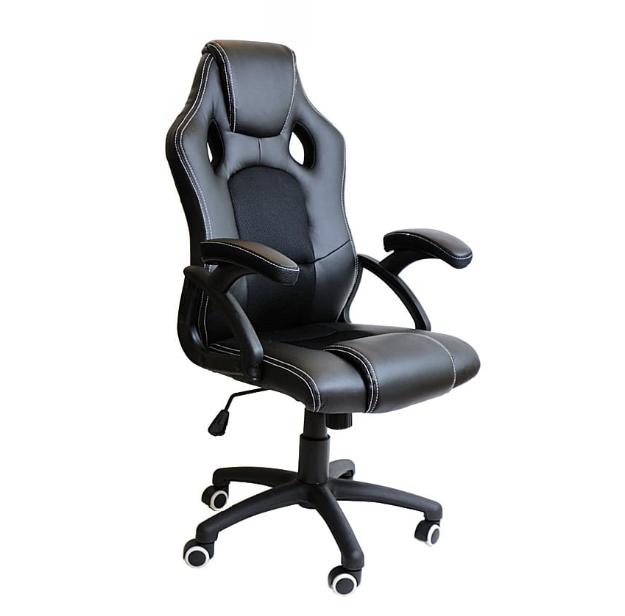 Fotel obrotowy gamingowy X6 Black Black